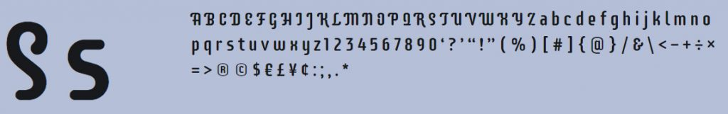 Supermercado One free font