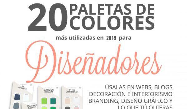 paletas de colores para diseño grafico diseño web
