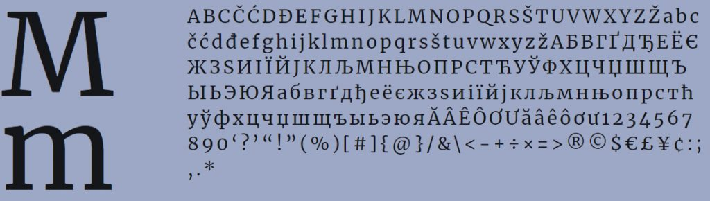 Merryweather free font