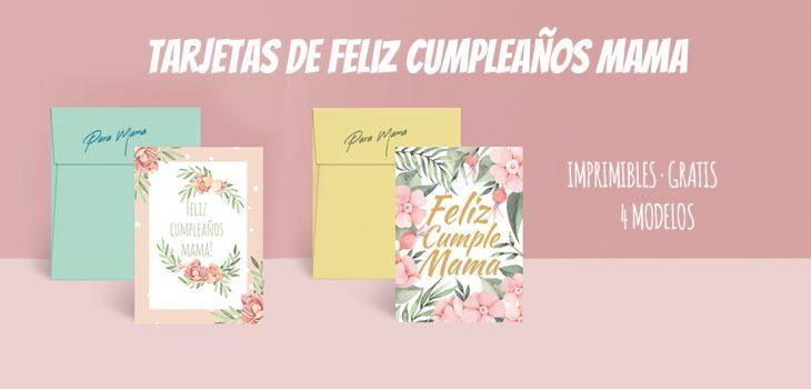 super quality get online wholesale price ▷Tarjetas de cumpleaños para mama imprimibles ...
