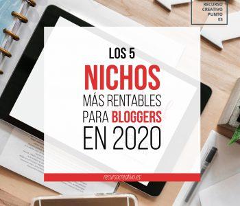 los mejores nichos para blogs de 2020
