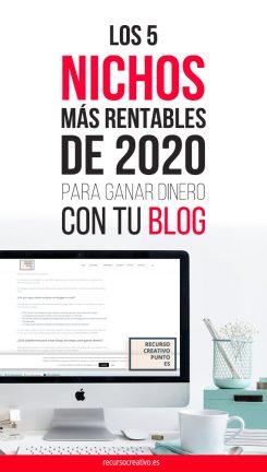 mejores nichos de 2020 bloggers